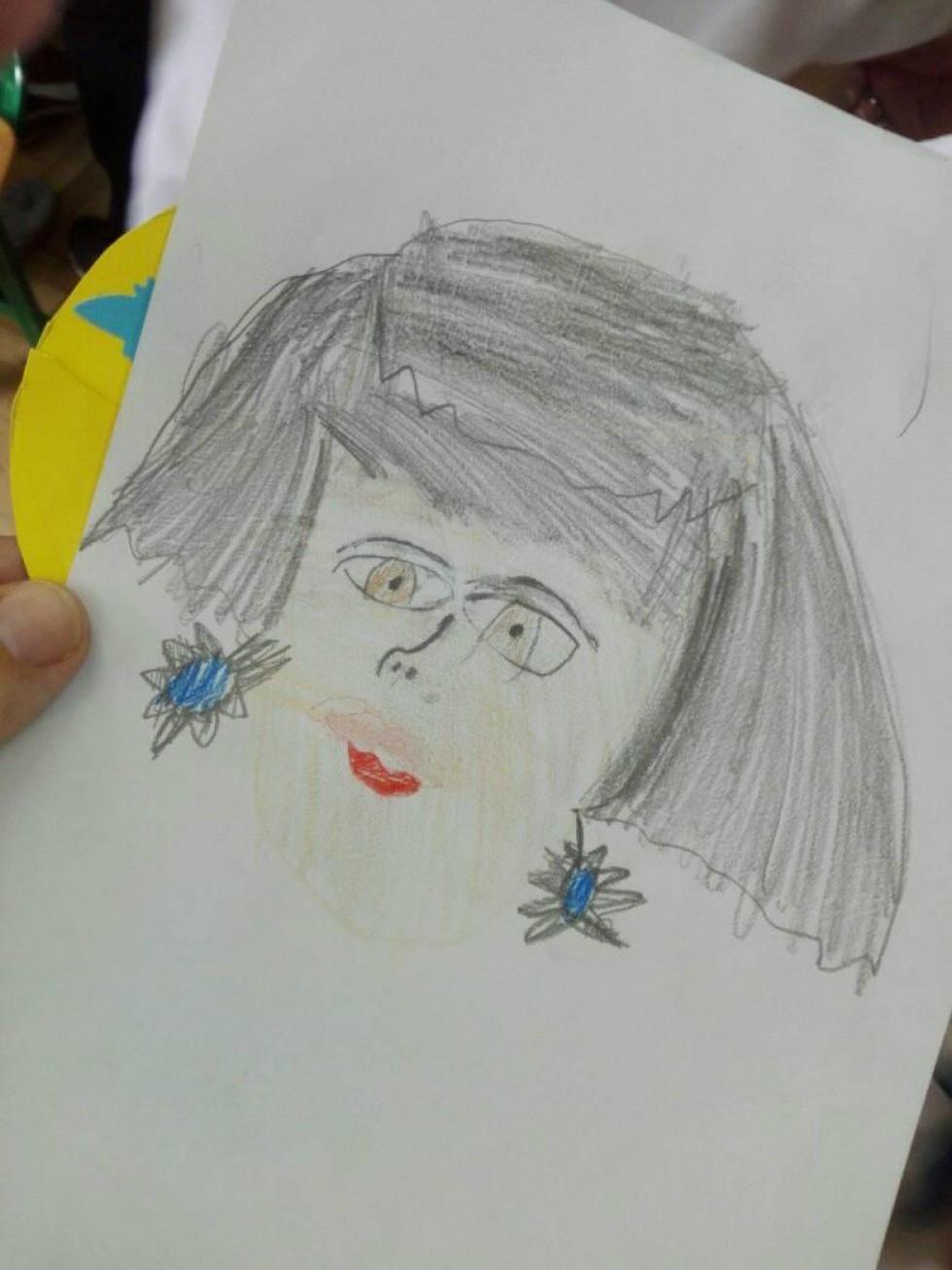 Портрет мами