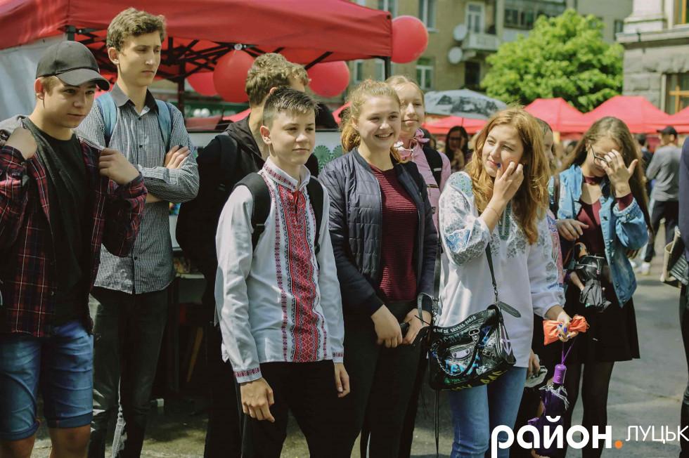 Школярі на фестивалі науки «ЯрФест-2018»