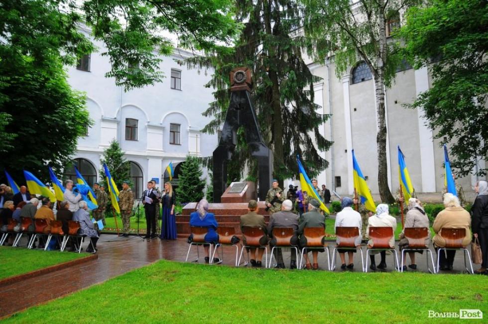 Скорботні урочистості відбувались на Замковій площі