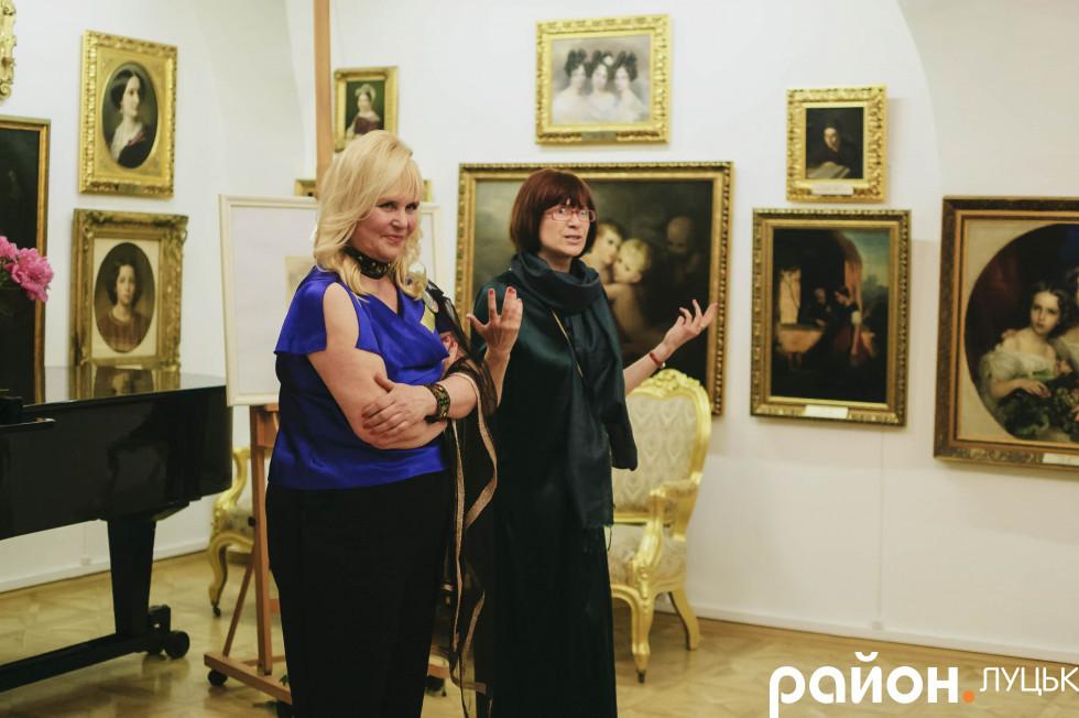 Була серед відвідувачів і гостя з Києва