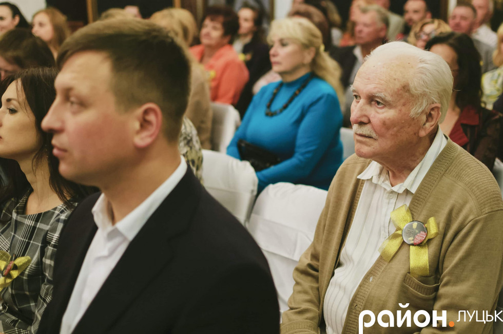 Серед гостей був і художник Валентин Кірюков
