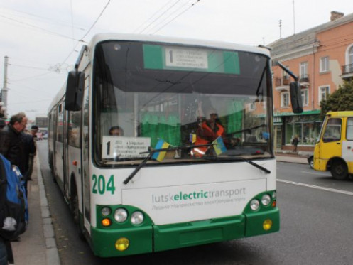 Тролейбус №1