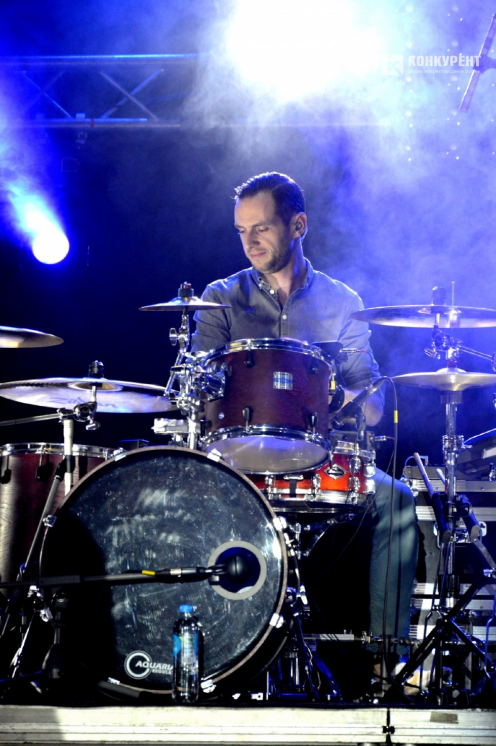 Барабанщик гурту «Без Обмежень»