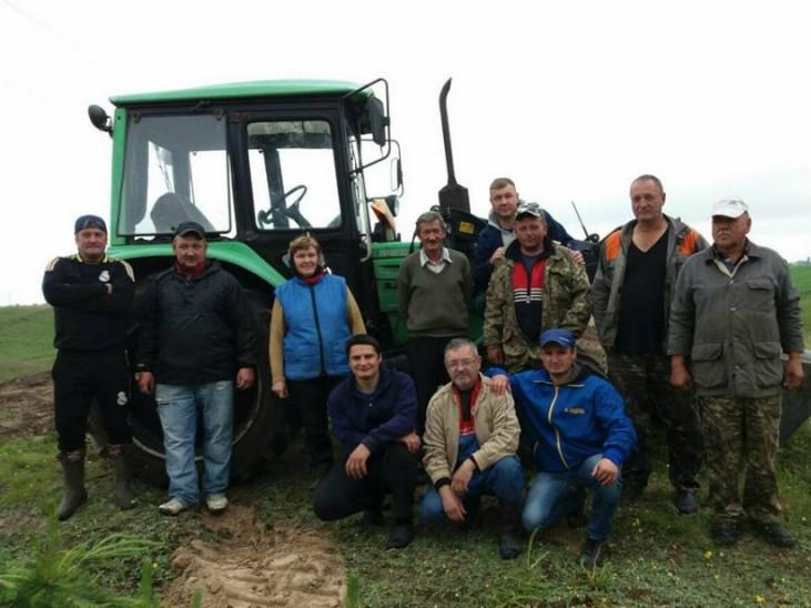 Мешканці Піддубцівської сільради вийшли на масштабну толоку