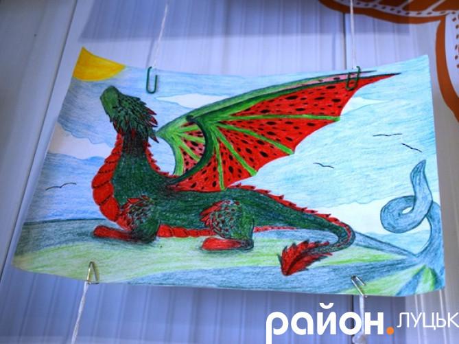 Малюнок учениці луцького НРЦ