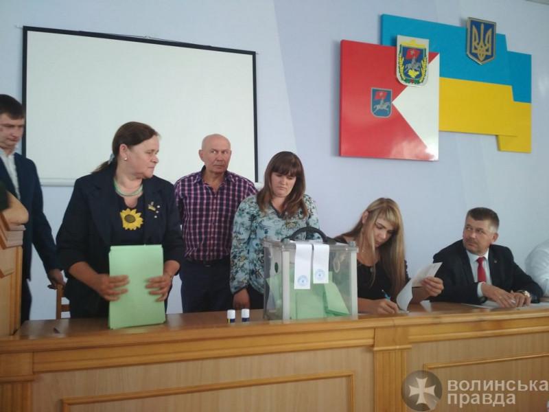 Луцька районна рада висловиланедовіру голові Луцької райдержадміністрації