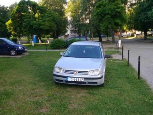 Авто на газоні