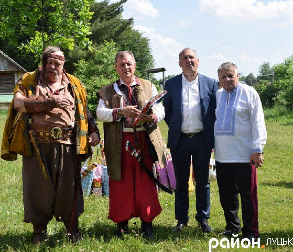Представники ГО  «Велике козацьке коло» та польські гості