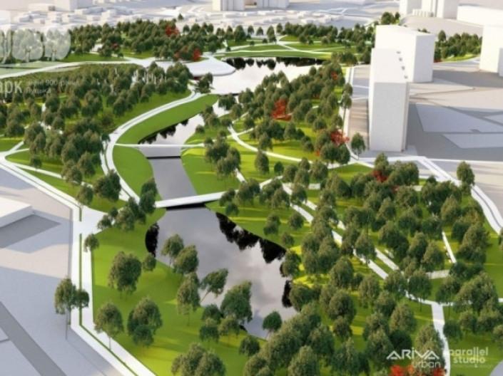 Парк імені 900-річчя Луцька реконструюють