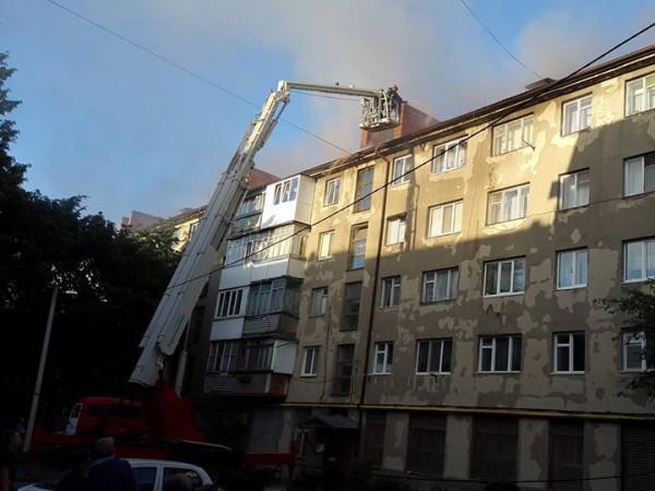 Пожежа на Стрілецькій