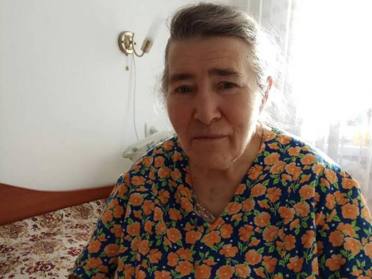 Одинока жінка поважного віку Таїсія потребує допомоги