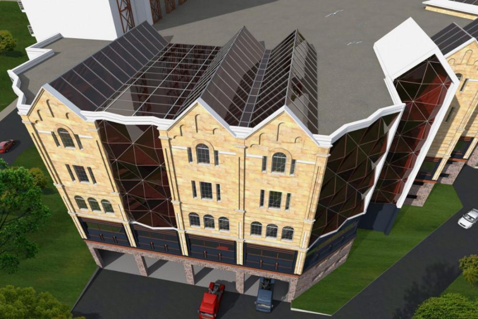 Архітектура могла б поєднатиісторичні мури і сучасне скло