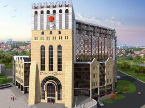 Такими могли б бути готель та офіси у вигляді замку Любарта