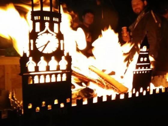 Кремль у вогні