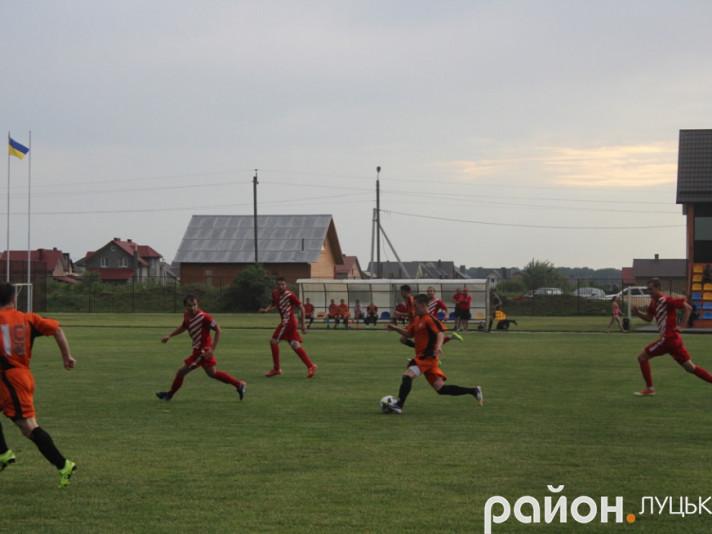 Гравці «Ковеля-Волині» таки взяли реванш у боратинської «Лаки» за поразку минулого сезону