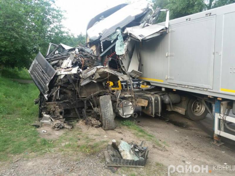 На трасі Луцьк – Маневичі cталася жахлива аварія