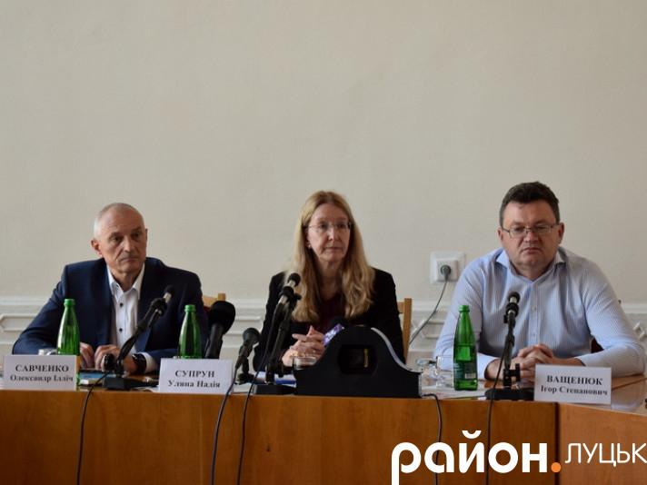 Прес-конференція у Луцьку