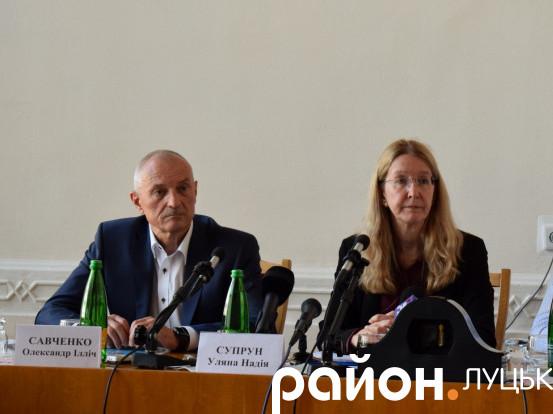 Олександр Савченко та Уляна Супрун