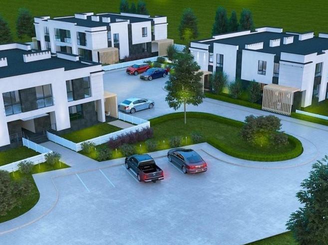 Таких двоповерхових окремих будинків в «Оріоні» буде чотири