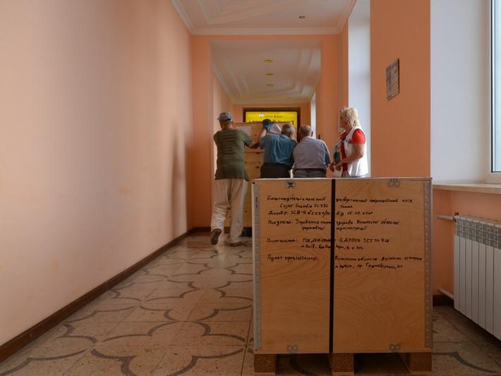 В обласну лікарню привезли обладнання від Світового банку