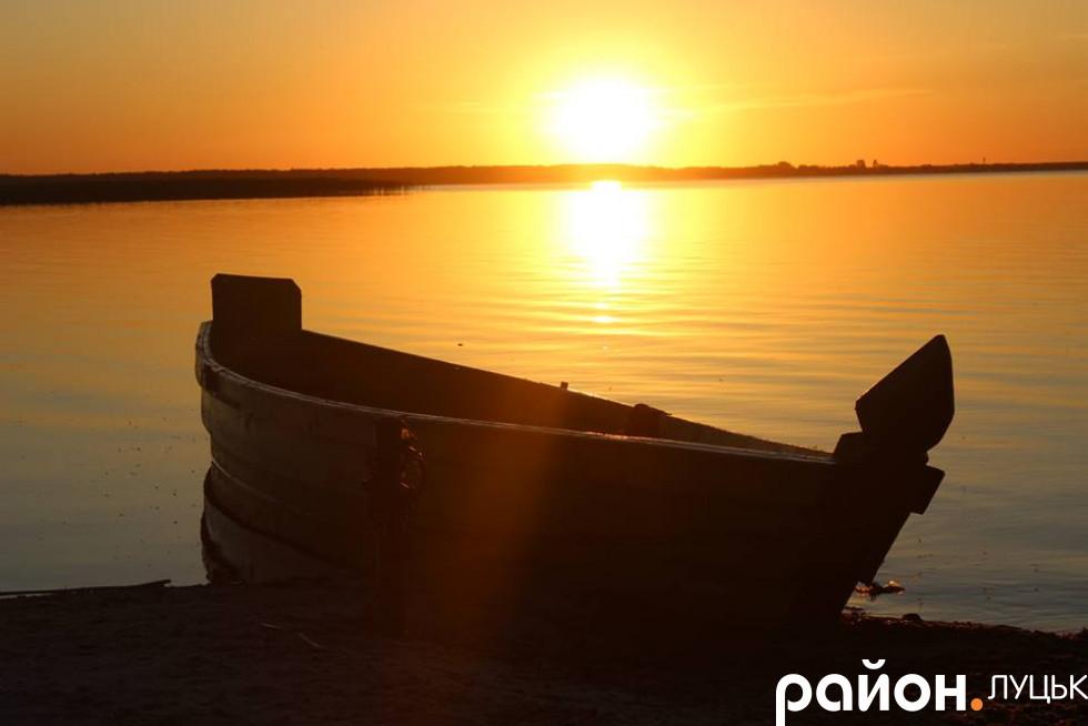 Неймовірний захід сонця