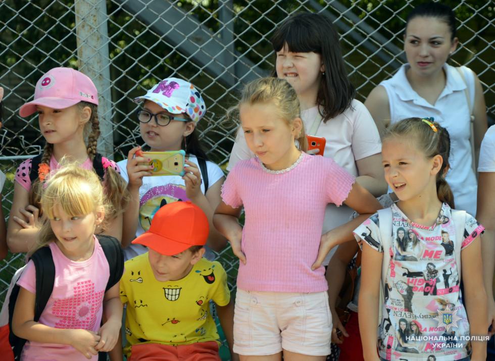 Учні пришкільного табору