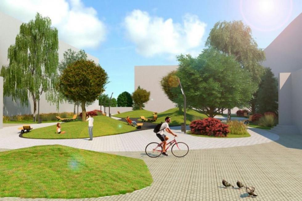 Проект майбутнього скверу