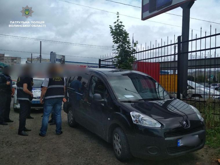 Peugeot Partner знайшли цілим і неушкодженим