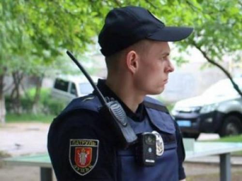 Патрульний поліцейський Володимир Фарамець