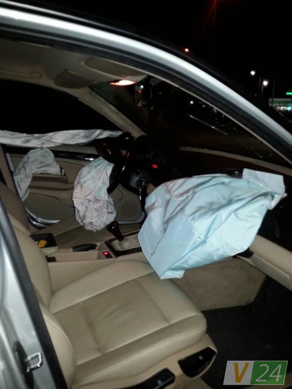 Спрацювали подушки безпеки