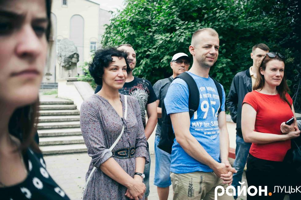 Екскурсія проходила у форматі прогулянки Старим містом