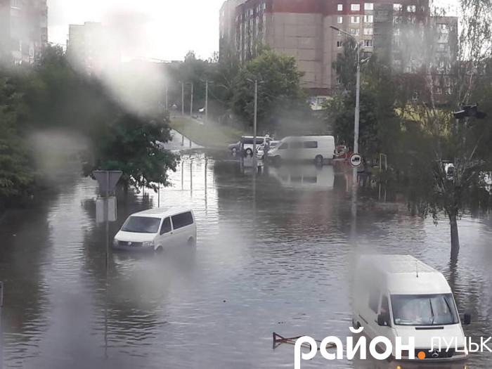 Транспортний колапс у Луцьку