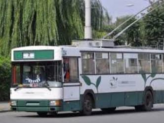 Майже усі тролейбуси вийшли на рейс
