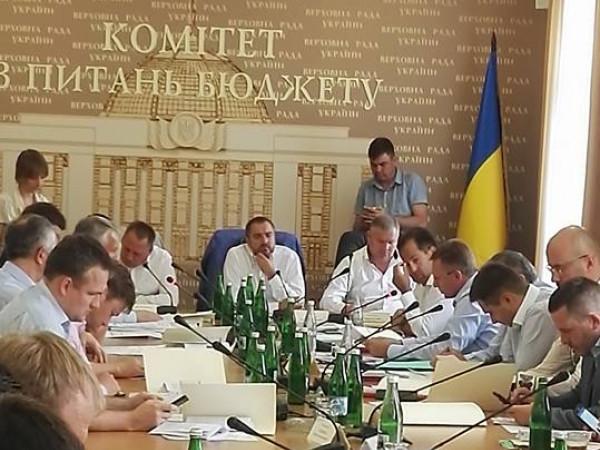 Засідання бюджетного комітету ВРУ