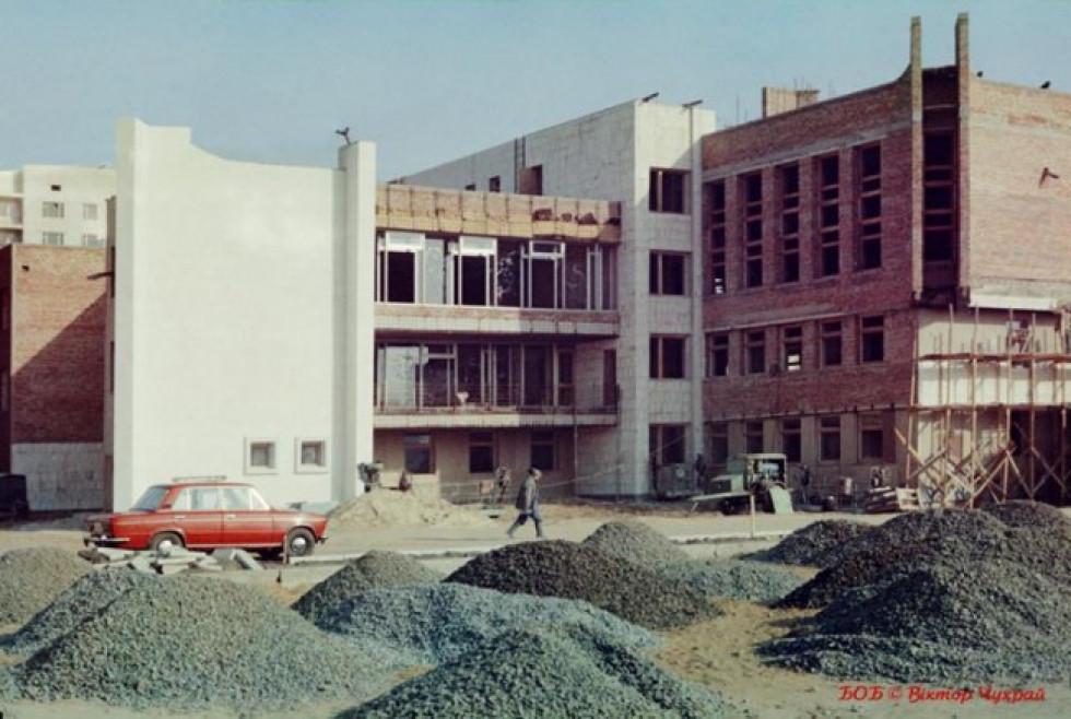Будівництво луцького РАЦСу