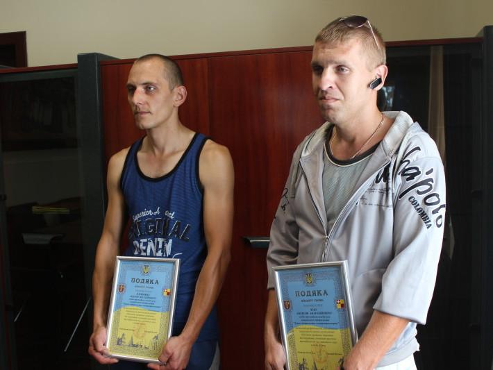 Андрій Олімпіюк та Олексій Чуб