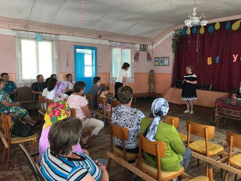 На слухання прийшли десятки мешканців села