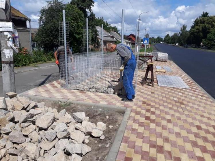 Будівництво зупинки