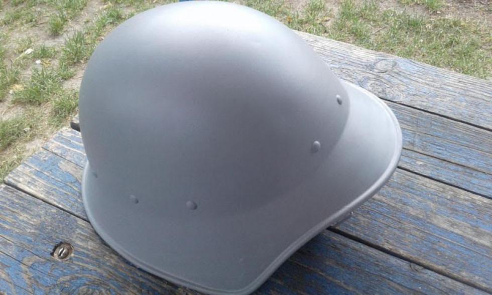 Відреставрований шолом