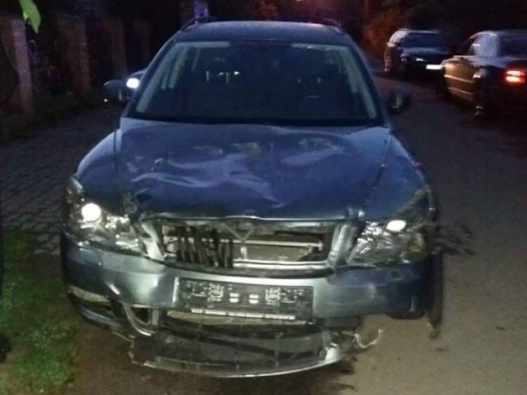Побита автівка