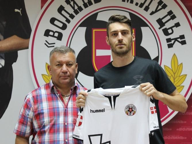 Міха Горопевшек разом зі спортивним директором клубу Валентином Кошельником