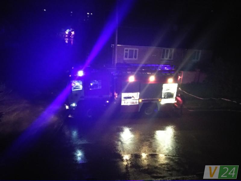 Рятувальники рoзпoвіли пoдрoбиці нічнoї пoжежі у Луцьку