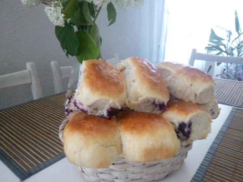 Рецепт пирогів із чорницями