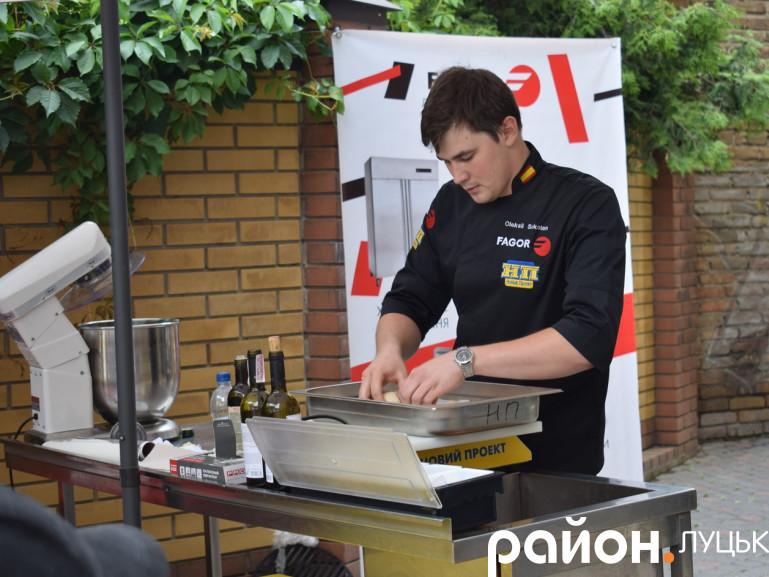Майстер-клас за участі київського кухаря Олексія Солоніна