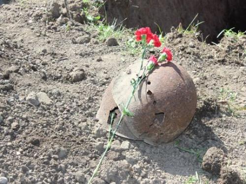 На Львівській знайшли останки солдата
