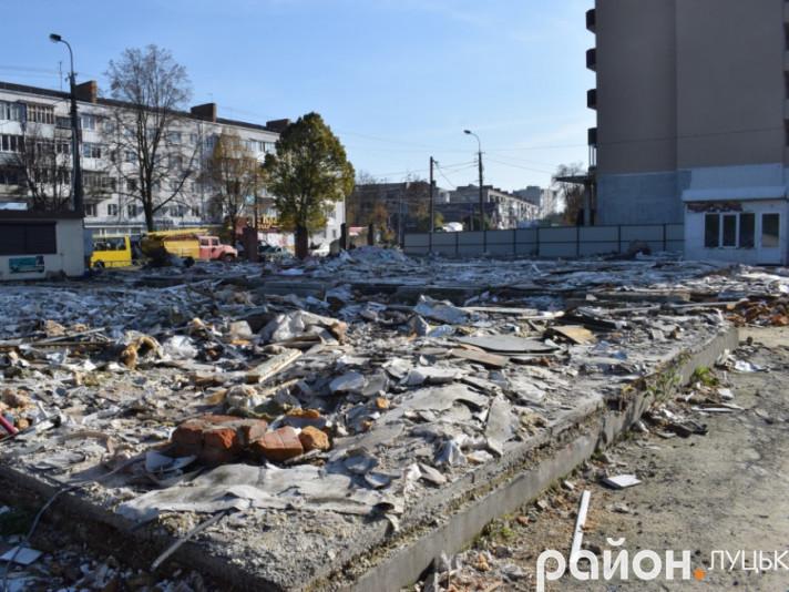 Знесений ринок «Львівський»