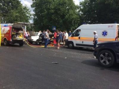 Аварія в селі Зміїнець