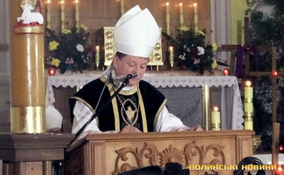 Єпископ-ординарій Луцької дієцезії РКЦВіталій Скомаровський
