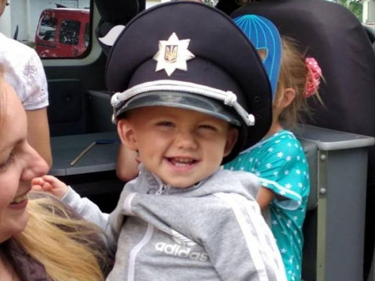 Діти спробували себе в ролі поліцейських