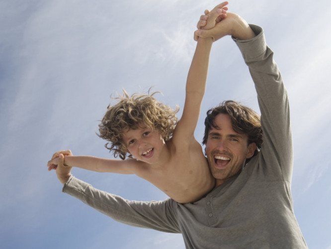 Тато і син
